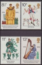 1976 British Cultural Traditions unmounted mint.