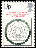 1977 Commonwealth Heads of Government Meeting unmounted mint.