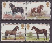 1978 Horses unmounted mint.