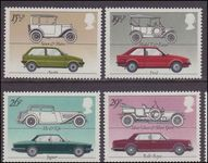 1982 British Motor Industry unmounted mint.