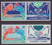 1994 Opening of Channel Tunnel unmounted mint.