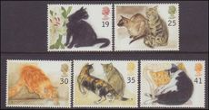 1995 Cats unmounted mint.