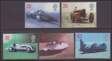 1998 British Land Speed Record Holders unmounted mint.