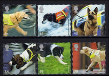 2008 Dogs unmounted mint.