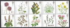 2009 Action for Species Plants unmounted mint.