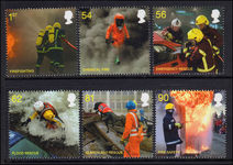 2009 Fire & Rescue unmounted mint.
