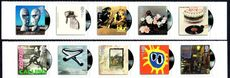 2010 Album Covers (Self-Adhesive) unmounted mint.