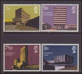1971 British Architecture. Modern University Buildings unmounted mint.