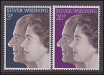 1972 Royal Silver Wedding unmounted mint.