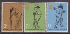1973 County Cricket unmounted mint.