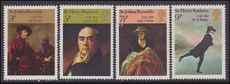 1973 British Paintings unmounted mint.
