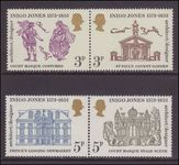 1973 400th Birth Anniv of Inigo Jones unmounted mint.