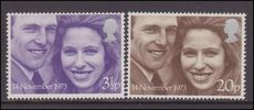 1973 Royal Wedding unmounted mint.