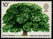 1974 British Trees (2nd issue) unmounted mint.