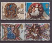 1974 Christmas. Church Roof Bosses unmounted mint.