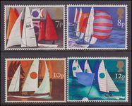 1975 Sailing unmounted mint.