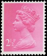 X852Ea 2½p magenta (side band right) unmounted mint.