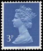 X856 3p ultramarine (1 centre band) unmounted mint.