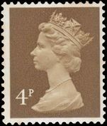 X861 4p ochre-brown (2 bands) unmounted mint.