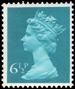 X873Ea 6½p greenish-blue (side band left) unmounted mint.
