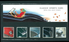 1996 Classic Sports Cars Presentation Pack.