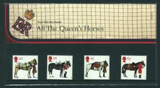 1997 All the Queens Horses Presentation Pack.