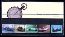 1998 British Land Speed Record Holders Presentation Pack.