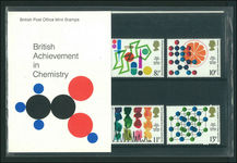 1977 Centenary of Royal Insitute of Chemistry Presentation Pack.