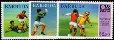 Barbuda 1974 World Cup Football unmounted mint.