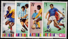 Barbuda 1974 World Cup Football 2nd issue unmounted mint.