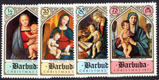 Barbuda 1971 Christmas unmounted mint.