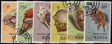 Kenya 1971-71 Shells high values fine used.