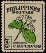 Philippines 1948 Flower Day mounted mint