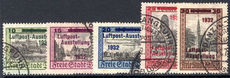Danzig 1932 International Air Post Exhibition fine used.