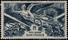 Martinique 1946 Victory lightly mounted mint.