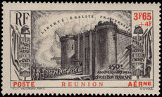 Reunion 1939 French Revolution air unmounted mint.