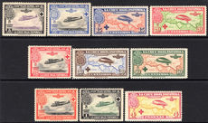 Spain 1926 Red Cross Air set unmounted mint.