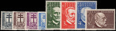 Belgium 1953 Anti-TB unmounted mint.