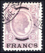 Post Office in Turkey 1903-04 2f grey-lilac fine used.