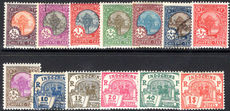 Indo-China 1927 Postage Due set mixed mint and used (4/5c 4c 10c fine used).