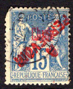 French PO's in China 1903 15c postage due used (poor).