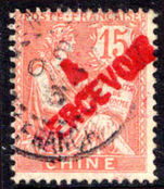 French PO's in China 1903 15c postage due fine used.