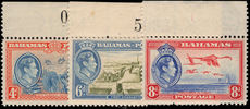 Bahamas 1938 pictorial set of three unmounted mint.