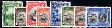 Grenada 1934-36 part set lightly mounted mint.