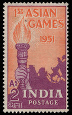 India 1951 Asian Games 2a lightly mounted mint.