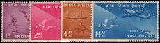 India 1954 Stamp Centenary lightly mounted mint.