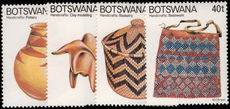 Botswana 1979 Handicrafts unmounted mint.
