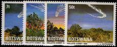 Botswana 1986 Halleys Comet unmounted mint.