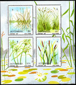 Botswana 1987 Christmas grasses souvenir sheet unmounted mint.
