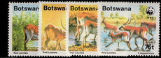 Botswana 1988 Red Lechwe unmounted mint.